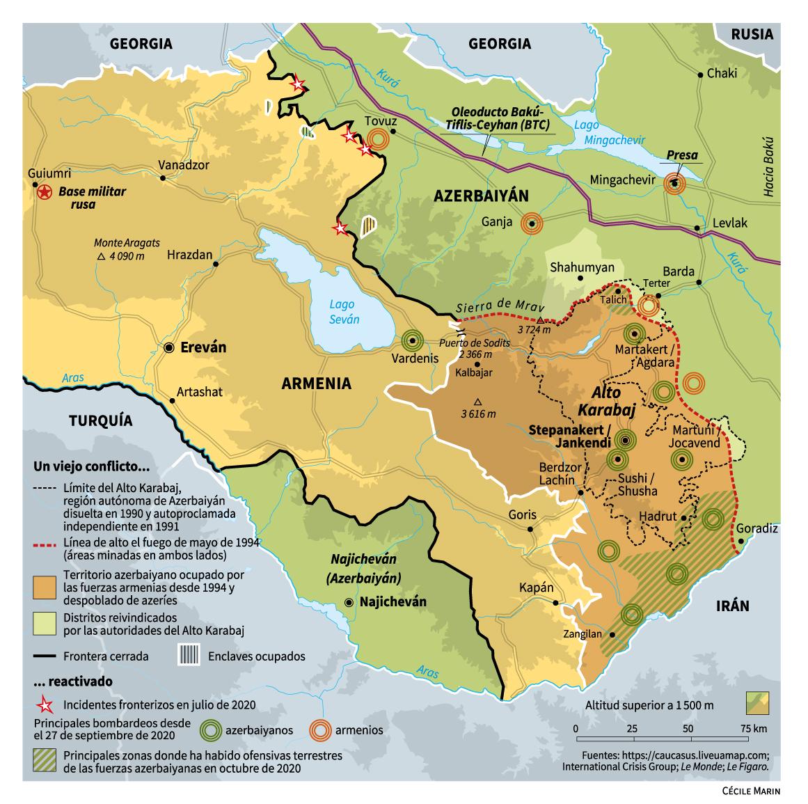Azerbaiyán, Armenia y Alto Karabaj. - Página 5 Armenia_azerbaiyan