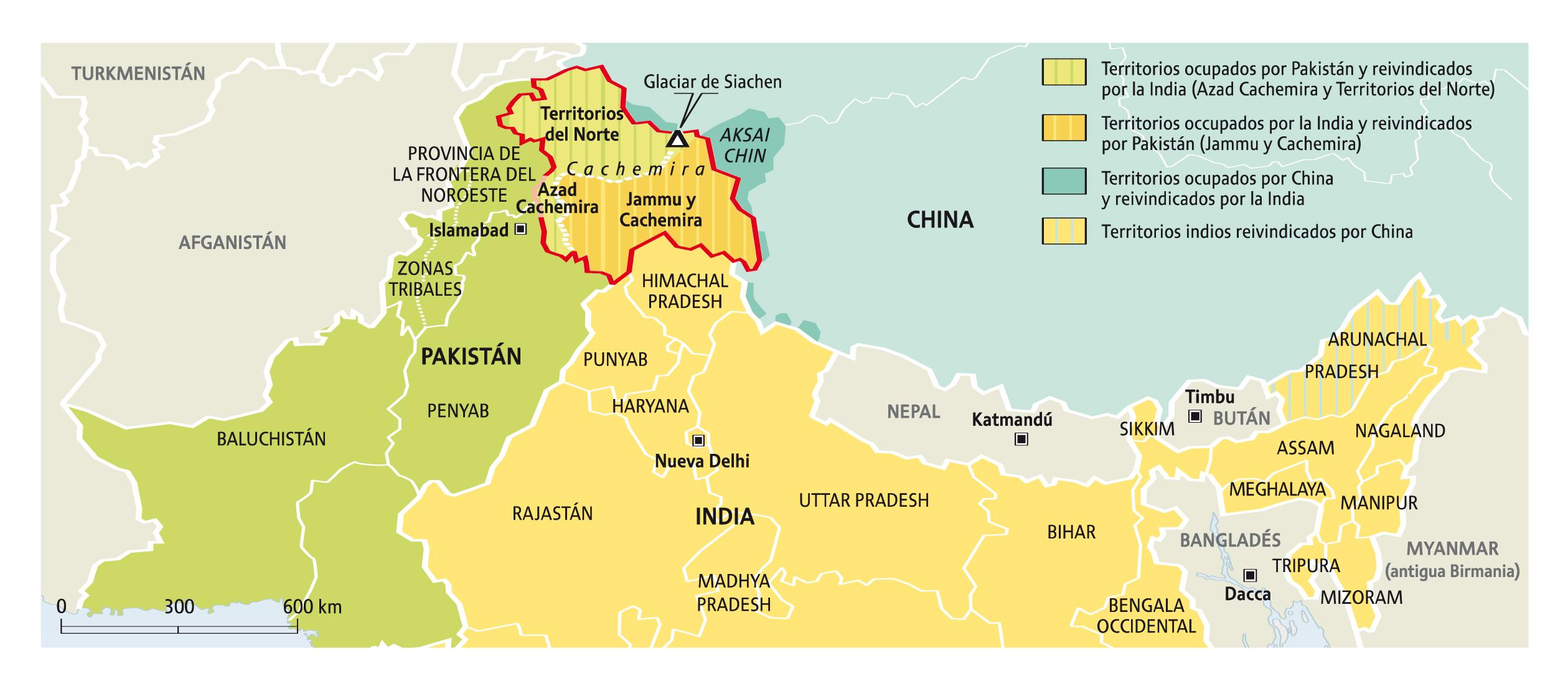 La India y China, conflictos y convergencias » - Le Monde diplomatique en  español
